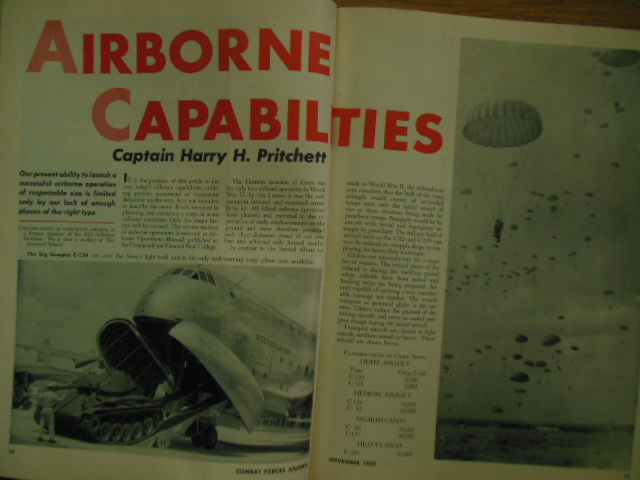 Image for United States Army Combat Forces Journal (August, October, November, December, 1950)