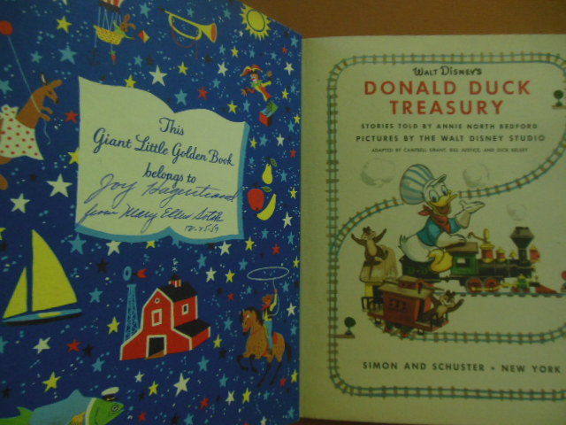 Image for Donald Duck Treasury (A Giant Little Golden Book 1957 1st Ed.)