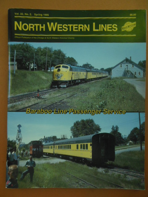 Image for North Western Lines Baraboo Line Passenger Service Spring 1995
