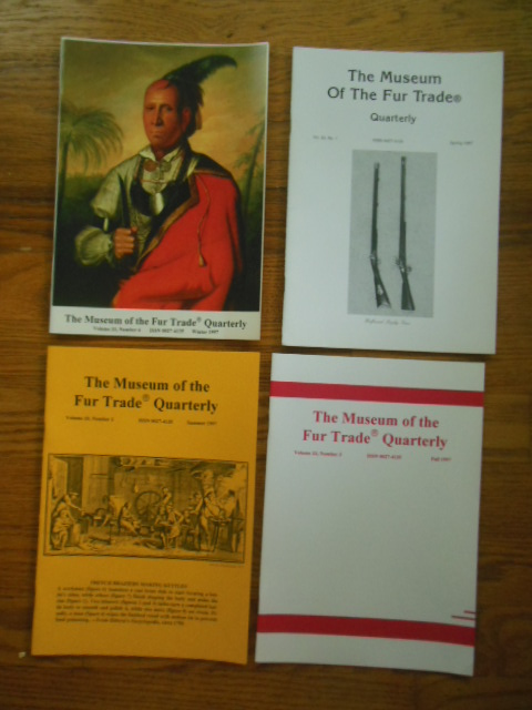 Image for The Museum of the Fur Trade Quarterly ( Four Issues, Full Run 1997)