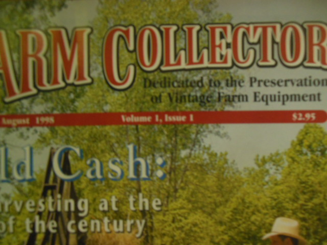 Image for Farm Collector Magazine (FirsT TWELVE  Issues Including Premier, August 1998)