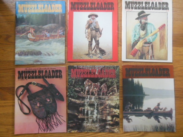 Image for The Muzzleloader Magazine (Full Run 6 Issues 1991)