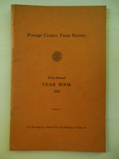 Image for Portage County Farm Bureau First Annual Year Book 1932 (Ohio)