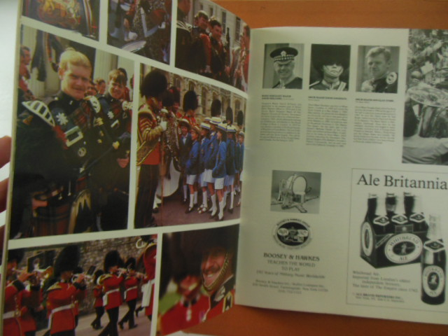 Image for Program: The Regimental Band of the Scots Guards the Pipes, Drums & Highland Dancers of the Black Watch (1983)