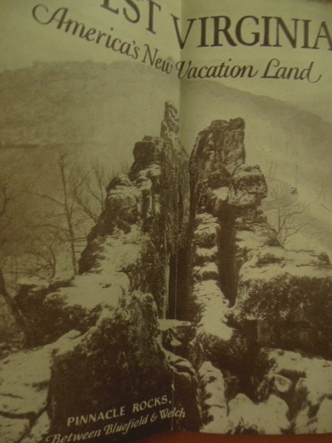Image for West Virginia America's New Vacation Land (Travel Brochure 1929)