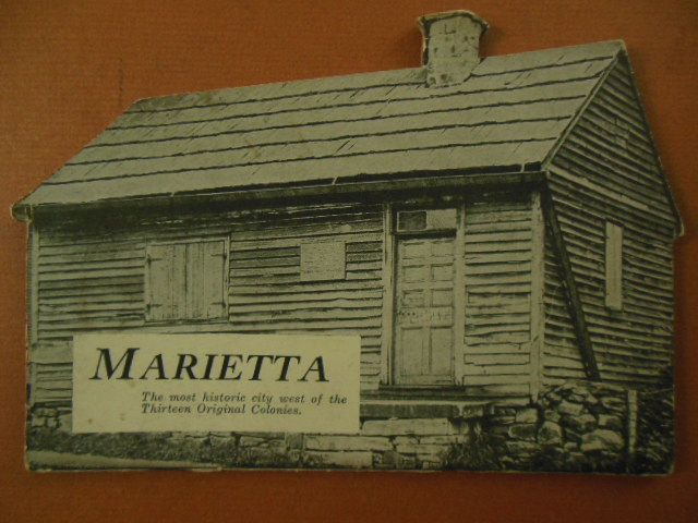 Image for Marietta, The Most Historic City West of the Thirteen Original Colonies (Ohio 1930's)