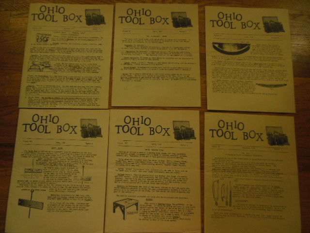 Image for Ohio Tool Box Magazine (Six Isssues 1990-1992)