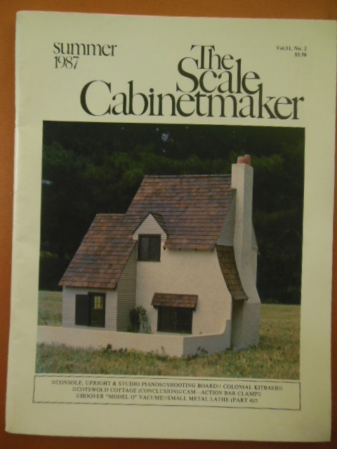 Image for The Scale Cabinetmaker Magazine (Summer 1987)