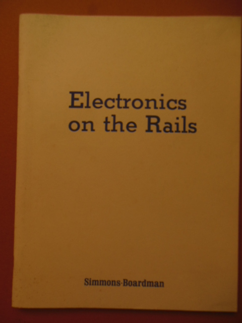 Image for Electronics on the Rails Sections 1 Through 3 (1979)