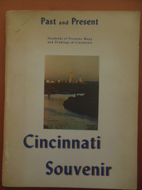 Image for Past and Present Cincinnati Souvenir (1958)