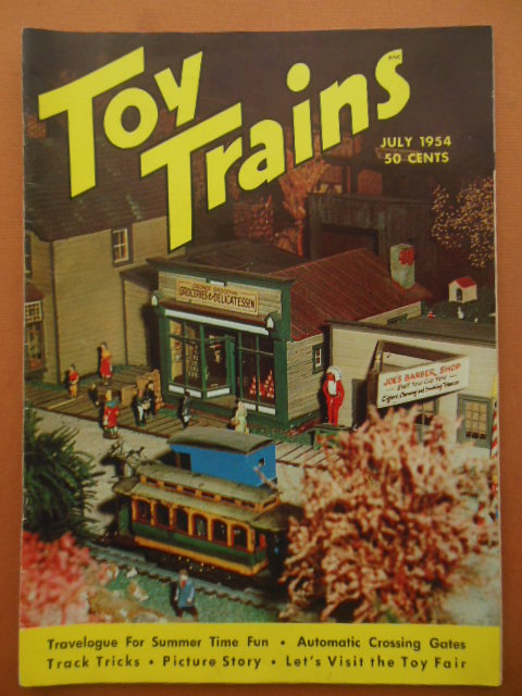Image for Toy Trains Magazine July 1954