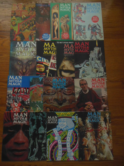 Image for Man, Myth and Magic (Issues 1-16)
