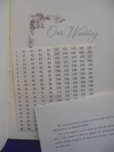 Image for Our Wedding Memory & Guest Book (1950's)