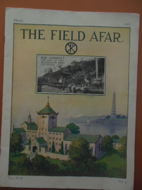 Image for The Field Afar Magazine March, 1923 (Maryknoll Mission in Yeungkong,China)