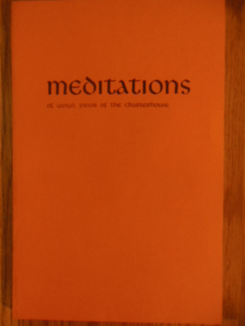 Image for Meditations of Guigo, Prior of the Charterhouse (1976)