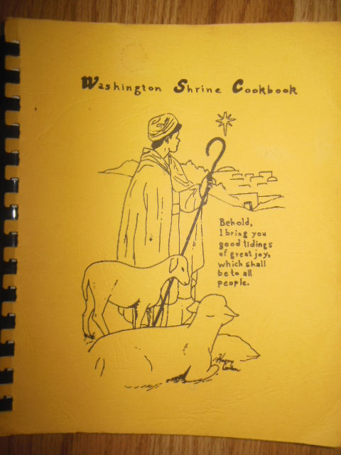 Image for Washington Shrine Cookbook (1980)