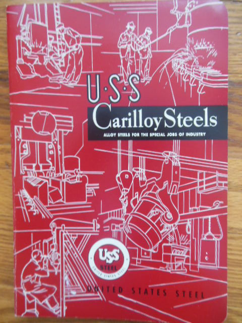 Image for U.S.S. Carilloy Steels (United States Steel 1953)