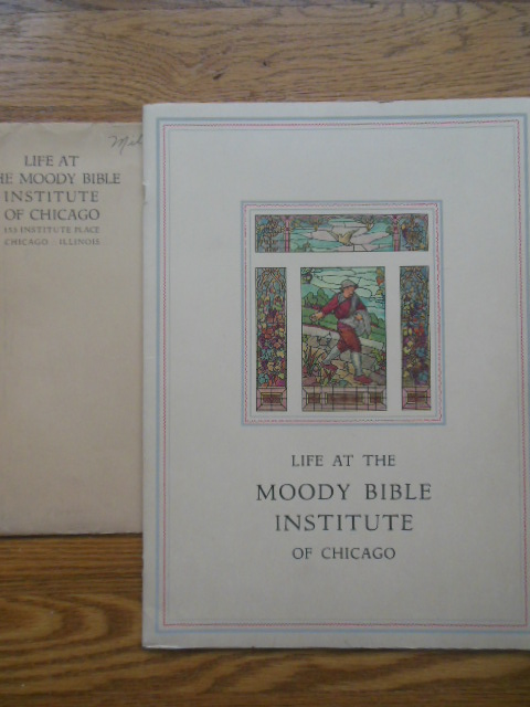 Image for Life At the Moody Bible Institute of Chicago (Oversized Advertising Booklet in Original Envelope, 1930)