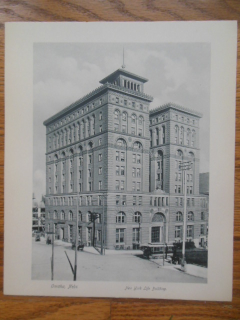Image for New York Life Building (Omaha, Nebraska Print)
