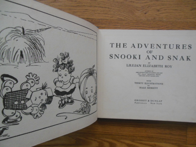 Image for The Adventures of Snooki and Snak (Hard cover coloring book 1928)