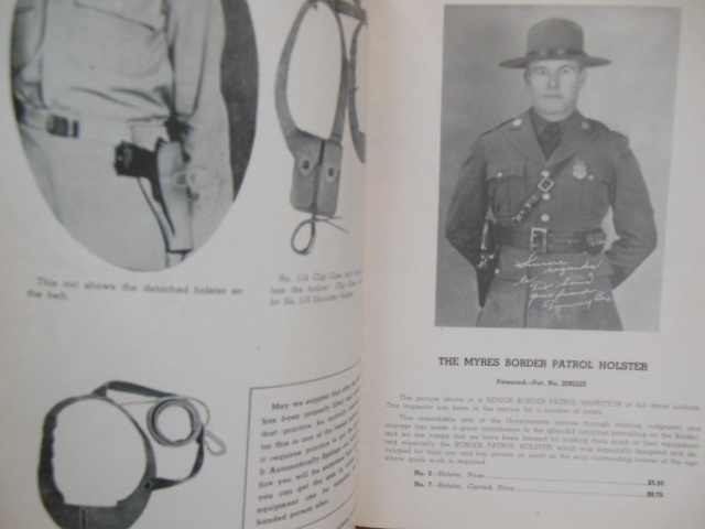 Image for S.D. Myres Holsters Belts Art Leather (1944 Trade Catalog)