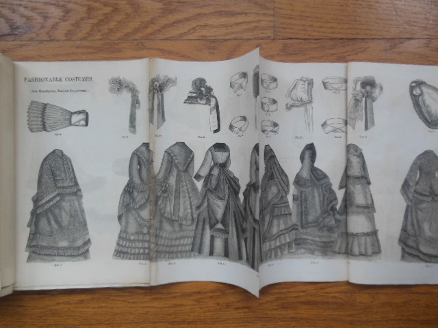 Image for Godey's Lady's Book June, 1872 (three-fold-outs)