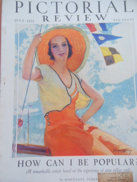 Image for Pictorial Review Magazine July, 1931 (Dolly Dingle, Herbert Hoover)