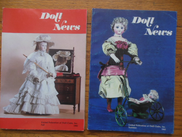Image for Doll News Magazine Summer, 1983; Fall, 1983 (Clarissa Paper Dolls Uncut)