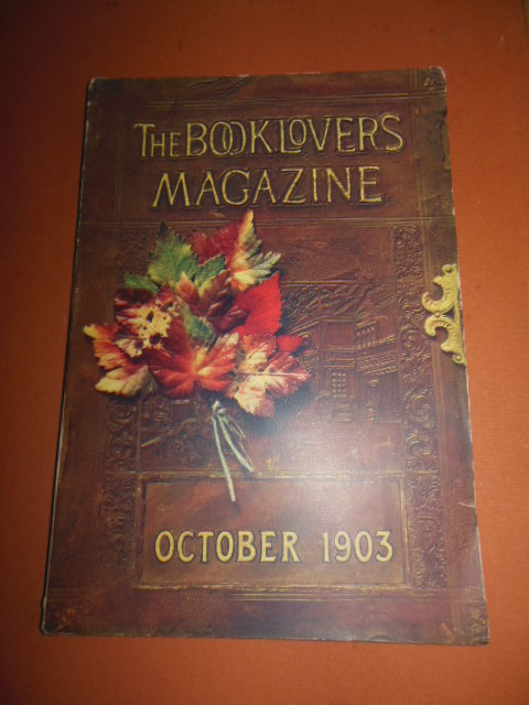 Image for The Booklovers Magazine October, 1903