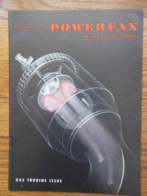 Image for Powerfax Magazine Elliott Company (Gas Turbine Issue Autumn 1945)