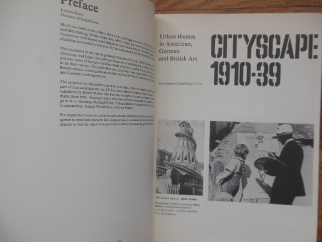 Image for Cityscape 1910-1939; Urban Themes in American, German and British Art (1977-1978)
