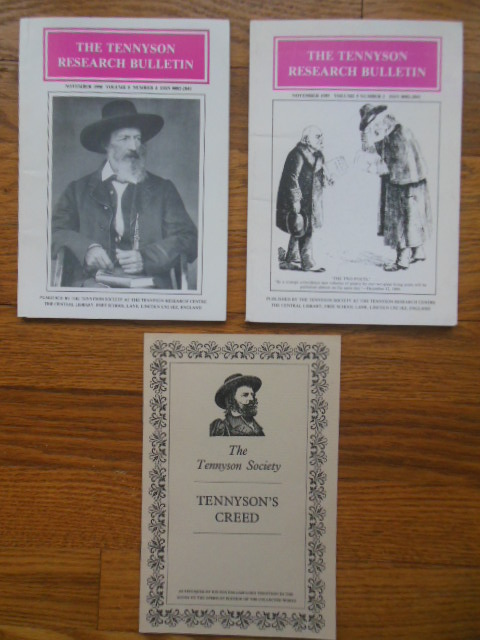 Image for Tennyson's Creed and The Tennyson Research Bulletin Volume 5, Nos. 3 & 4 (1989-90)
