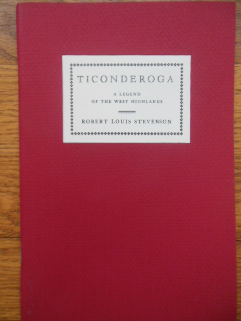 Image for Ticonderoga A Legend of the West Highlands