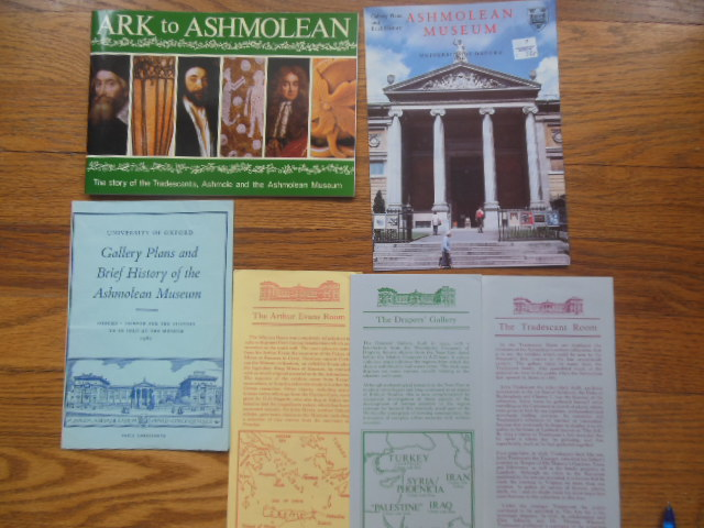 Image for Ark to Ashmolean; the Story of the Tradescants, Ashmole and the Ashmolean Museum  (related Items laid-in)