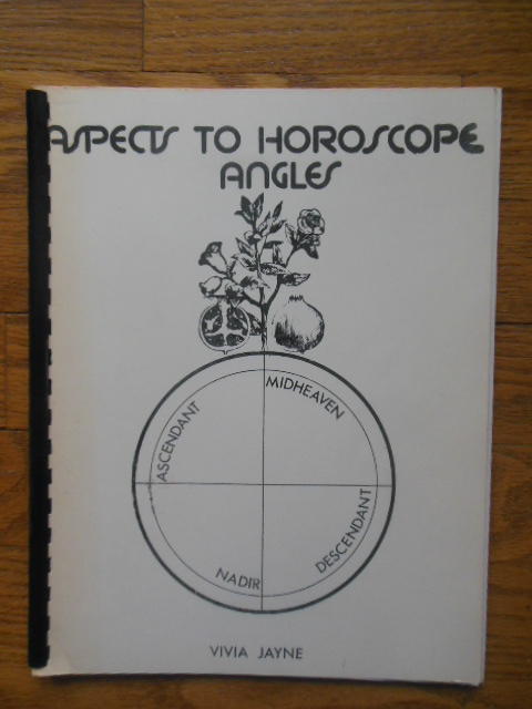 Image for Aspects To Horoscope Angles (1975)