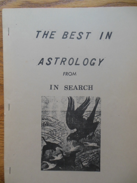 Image for The Best in Astrology from IN SEARCH. Vol. 1.