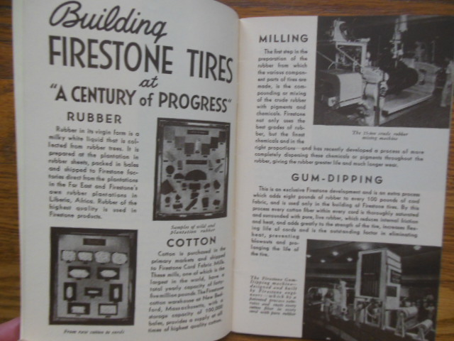 Image for World's Fair Chicago 1934 How Firestone High Speed Tires Are Made