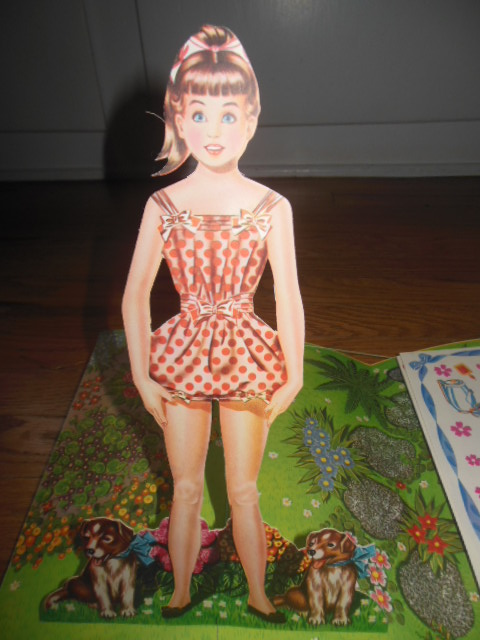 Image for Lili Pop-Up Paper Doll (1950's)