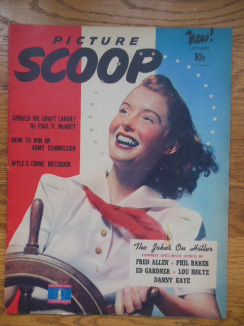 Image for Picture Scoop Magazine October, 1942 (1st Issue)