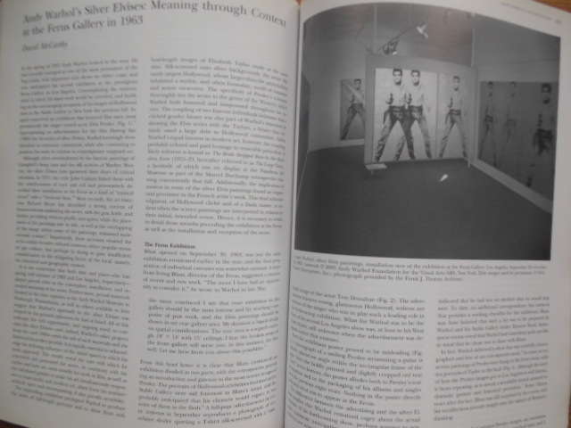Image for The Art Bulletin June 2006 (Andy Warhol's Silver Elvises)