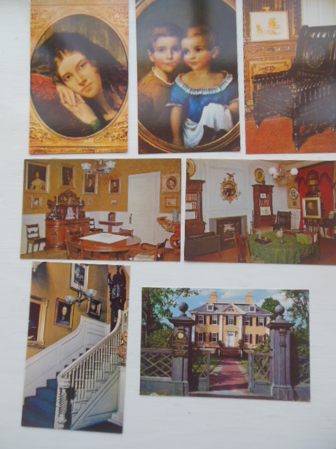 Image for Henry Wadsworth Longfellow Home and Family (7 Color Postcards pre-1963)