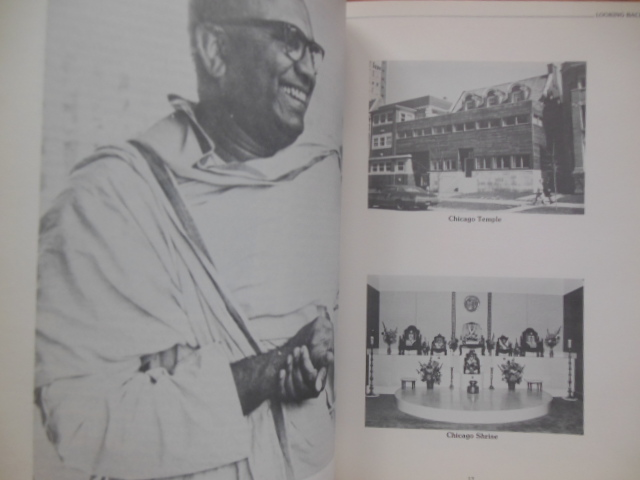 Image for Vedanta in Chicago Golden Jubilee Souvenir Vivekananda Vedanta Society 1930-80