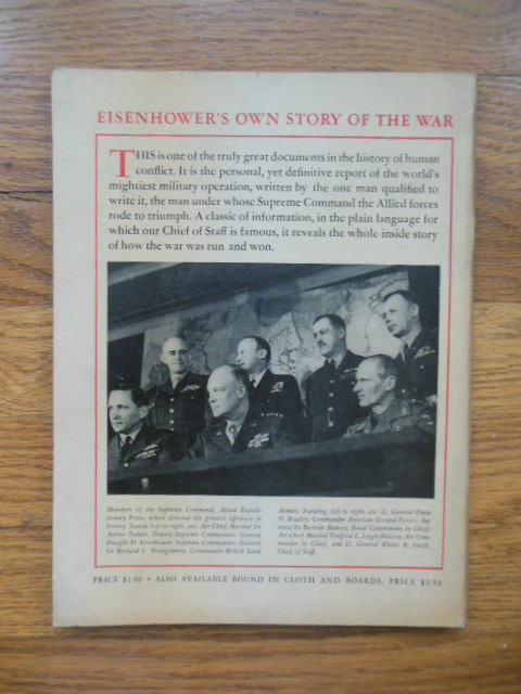 Image for Eisenhower's Own Story of the War (1946)