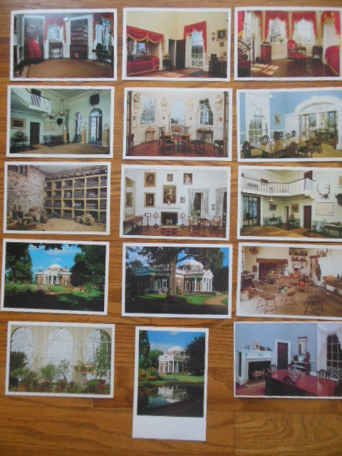 Image for 15 Postcards Views of Monticello