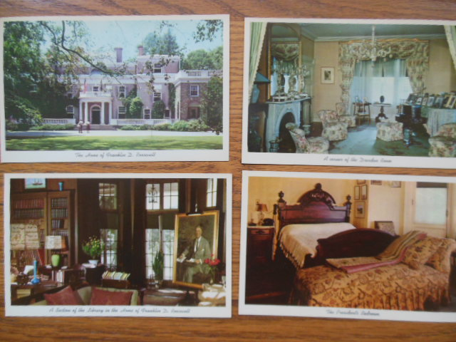 Image for Postcards Hyde Park Home of Franklin D. Roosevelt (4 cards)