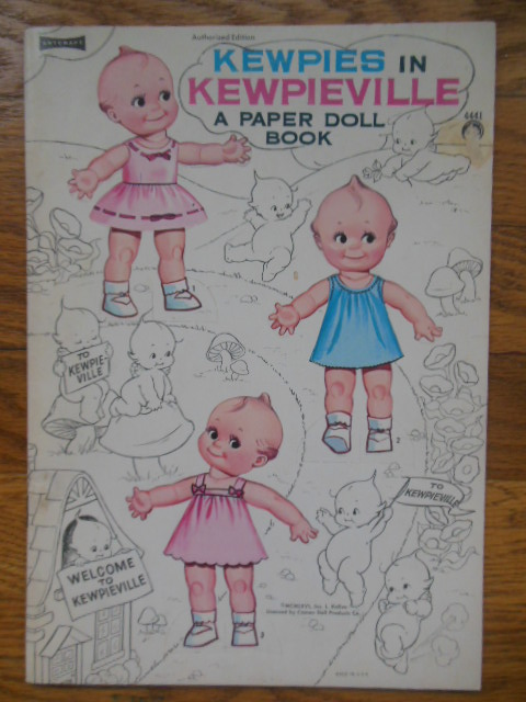 Image for Kewpies In Kewpieville A Paper Doll Book (Six Stand-up Kewpies) 1966