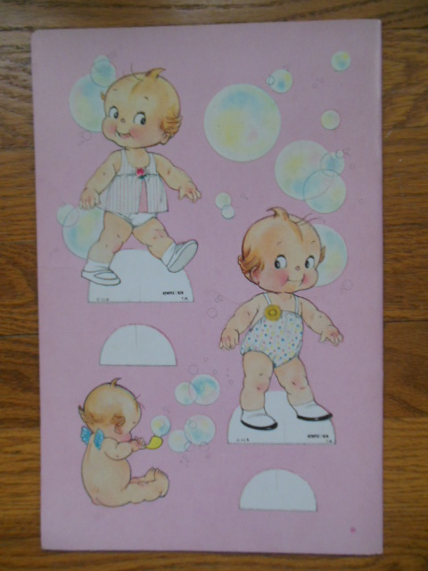 Image for Kewpie Kin Paper Dolls (Six Stand-up Dolls 1967)