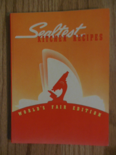 Image for Sealtest Kitchen Recipes World's Fair Edition (1939)