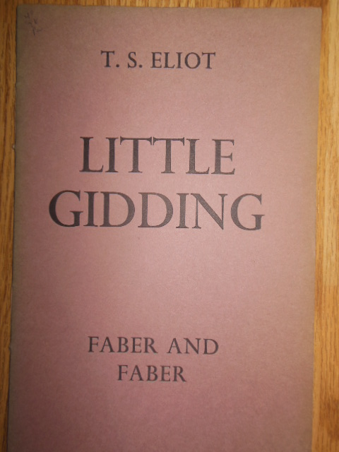 Image for T.S. Eliot, Little Gidding (1st Edition, 1942)