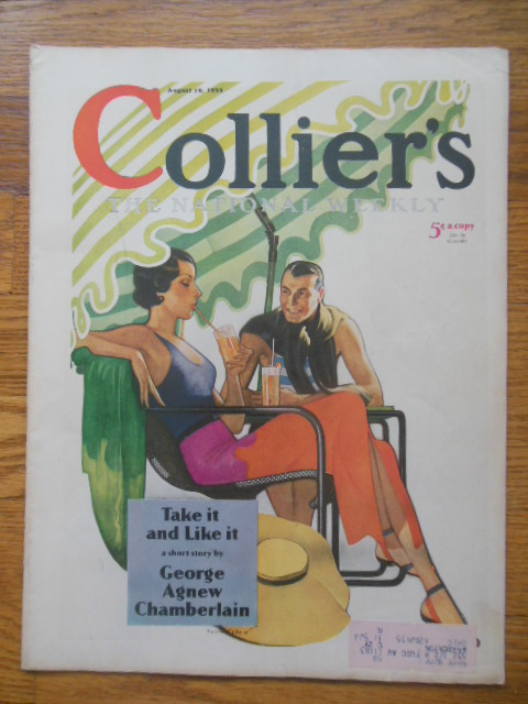 Image for Collier's Magazine: The    Nation's Weekly August 19, 1933 (George Creel, Railroad Troubles, Kathleen Norris, Babe Herman)